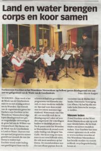 Bericht in Woerdens Nieuwsblad op 22 oktober 2010