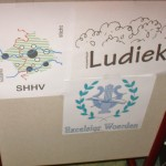Logo's van wie er bij betrokken waren