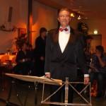 Hans van Hees weet het al: het concert wordt een succes!