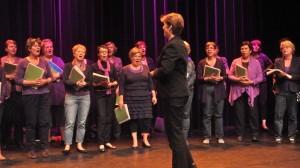 Ludiek met Caroline Leloux als dirigent